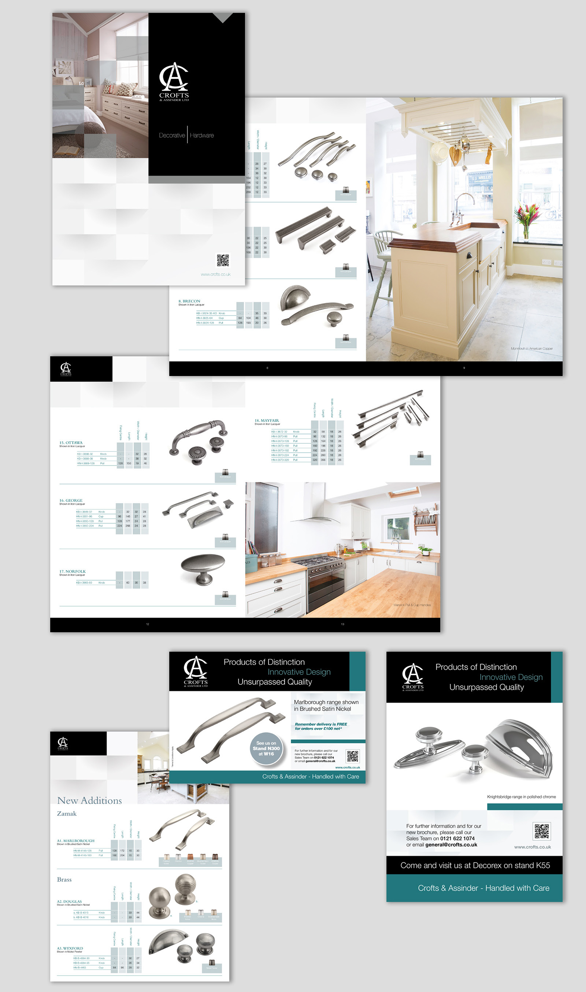 Crofts and Assinder Branding