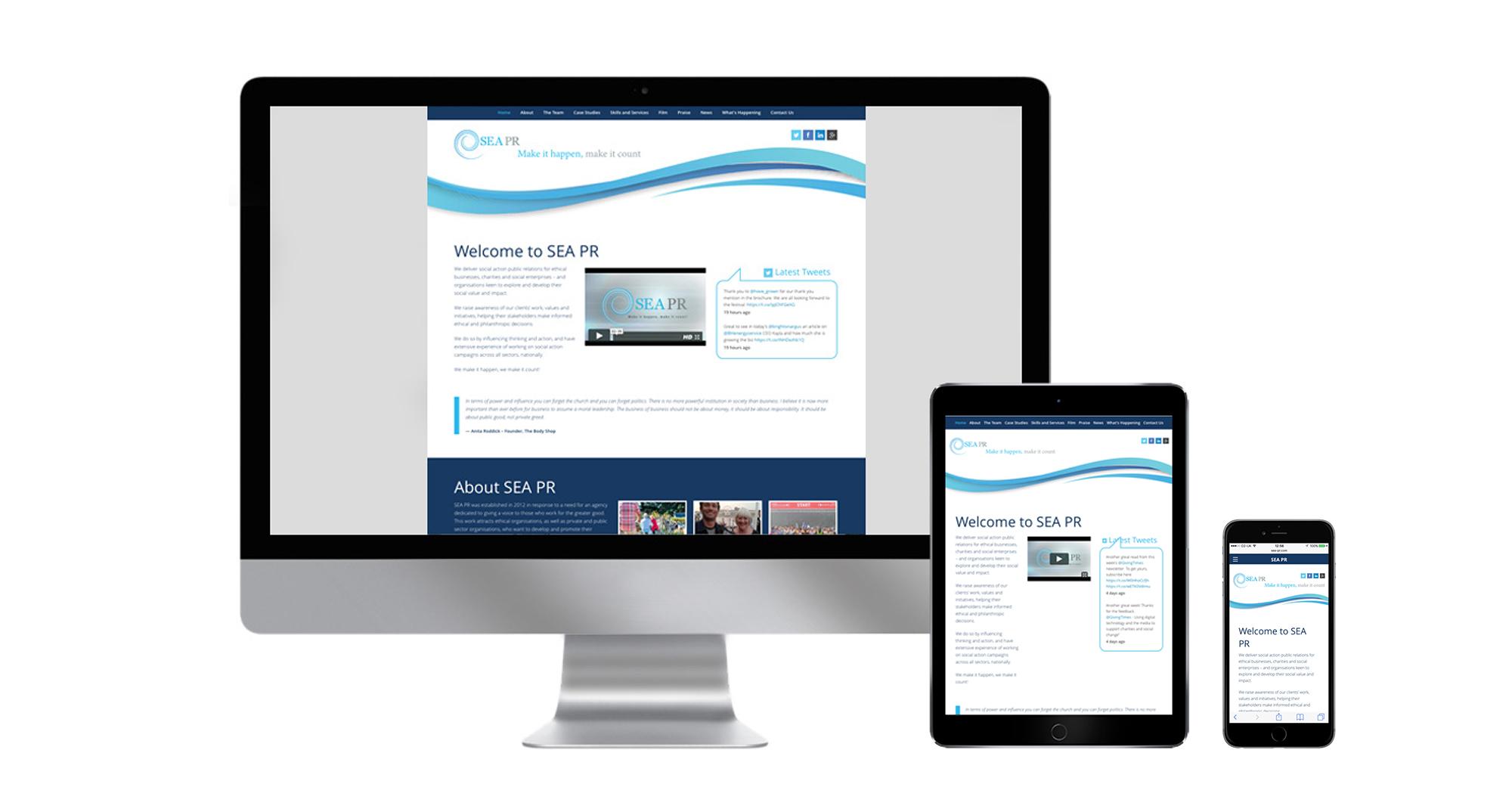 Sea PR Website