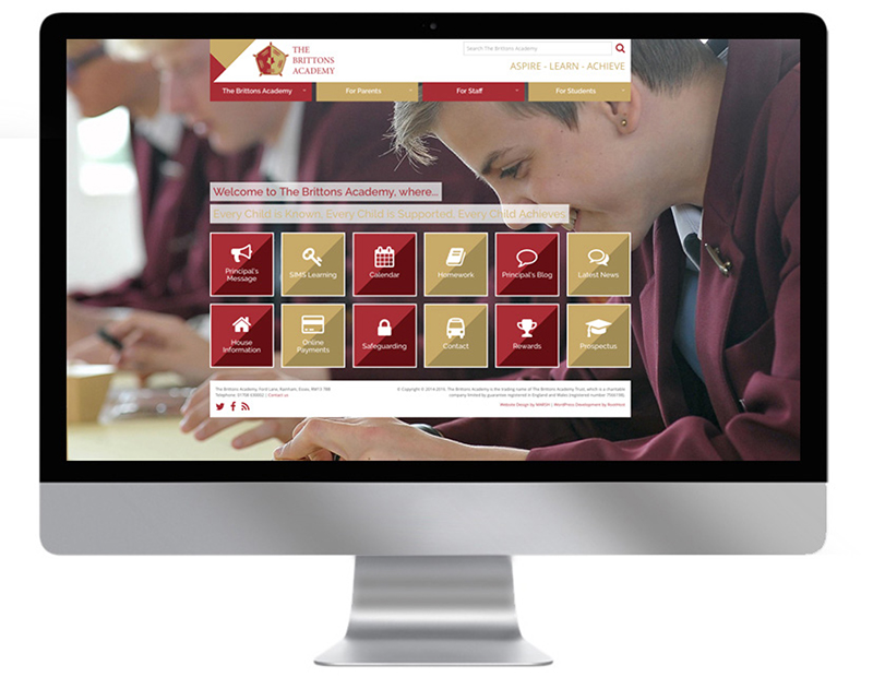 The Brittons Academy Website